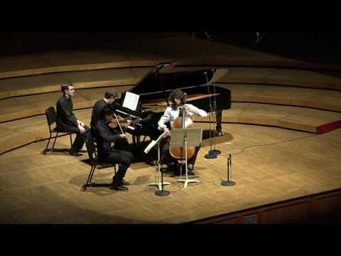 DVOŘÁK Piano Trio in F minor, Op. 65 (mvts. III & IV) / TMC Fellows