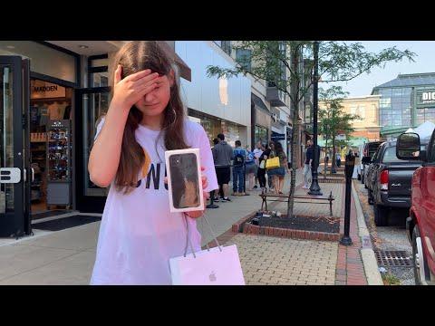 Шоппинг в APPLE STORE  в Америке дешевле? сиреневый и мятный айфон/ распаковка IPHONE 11