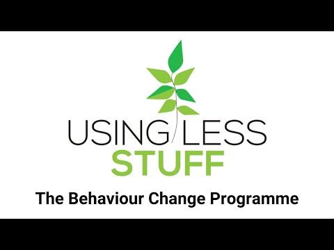 Using Less Stuff The Behaviour Change Programme Explainer