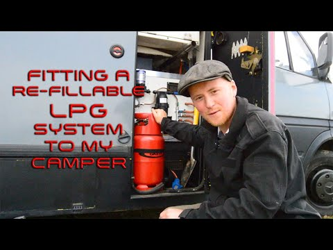 Fitting A Refillable Gas System To My Van.