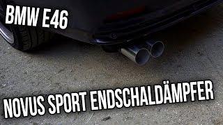 BMW E46 - Novus Sport Endschaldämpfer