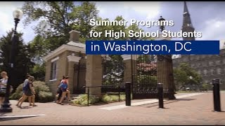 Georgetown University Summer Programs for High School Students