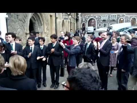 Westminster School Queen's Scholars.