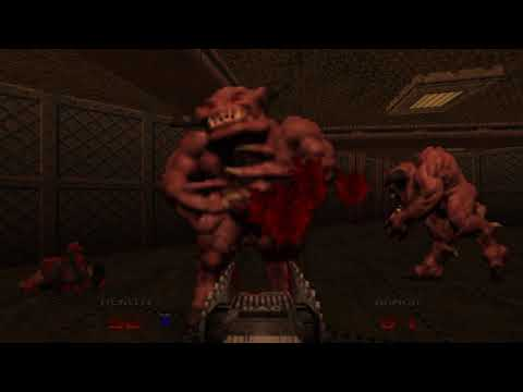 Doom 64 EX -  Level 1: Staging Area (Watch Me Die! difficulty)