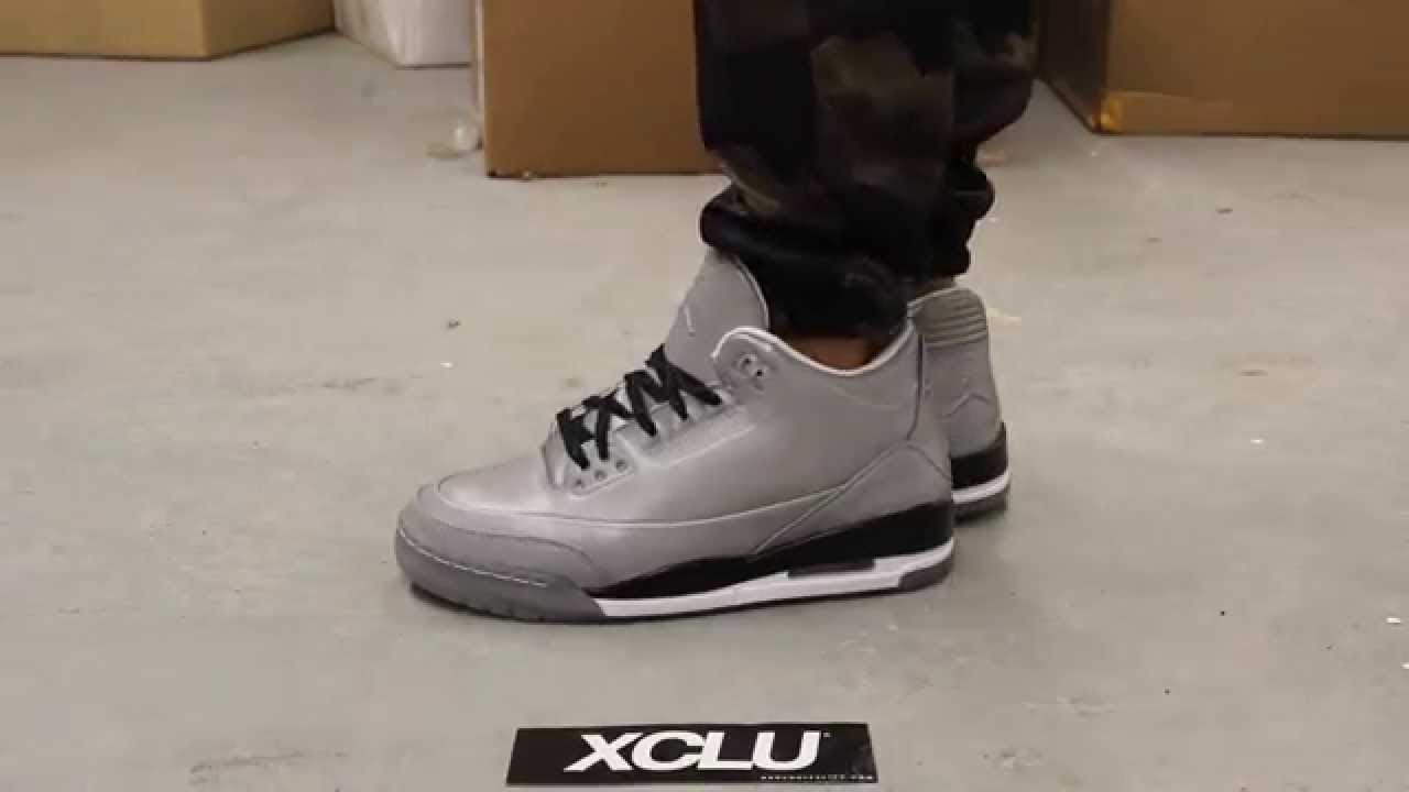 239cbe0578cc Air Jordan 5Lab3 Reflective Silver - White - Black On-feet Video at  Exclucity - YouTube