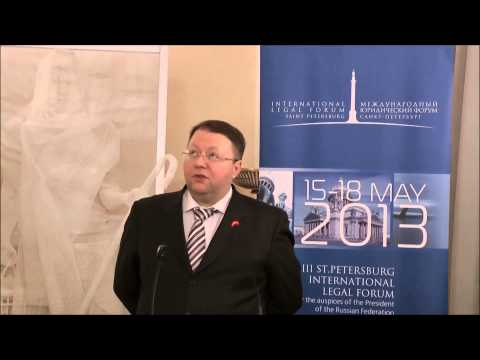Chairman of the Supreme Court of Arbitration of Russia, Anton Ivanov's speech at the Russian Embassy