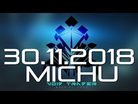 Warframe MICHU Ki'Teer Kupiec z Pustki - 30.11.2018 thumbnail
