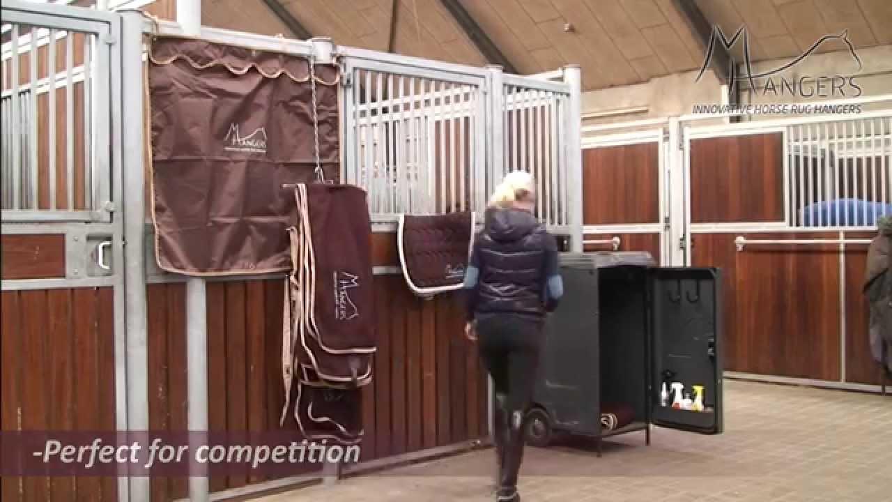MHangers   INNOVATIVE HORSE RUG HANGERS   YouTube