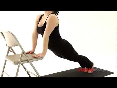 Yoga for Beginners Sun Salutation A with Chair