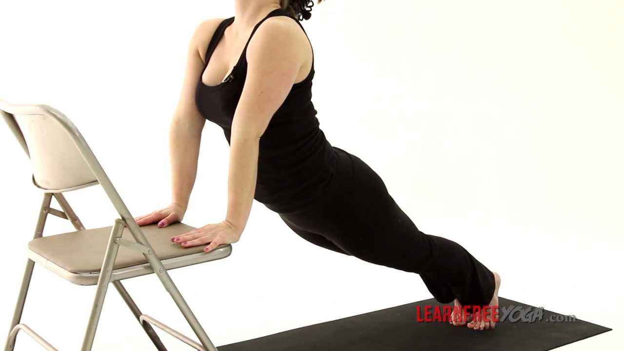 youtube chair yoga hospital chairs that convert to beds for beginners sun salutation a with