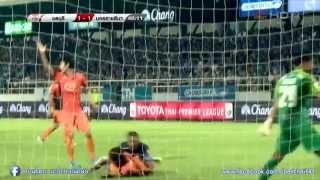 highlight thai premier league 2015  (1)  Chonburi  FC  2 VS Nakhonratchasima FC 2