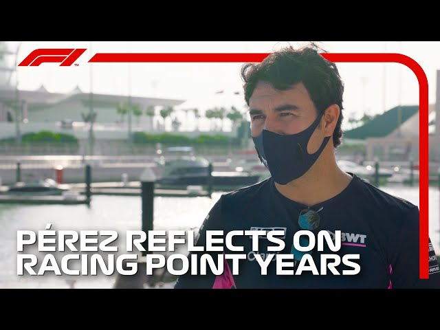 Sergio Perez's Emotional Reflections On Seven Years At Racing Point