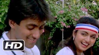 Tum Ladki Ho - Salman Khan, Bhagyashree -  Maine Pyar Kiya - Best Romantic Song