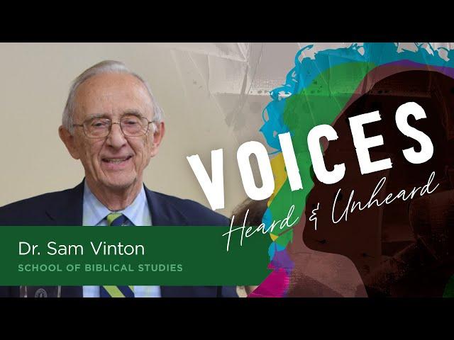 Judas   Dr. Sam Vinton