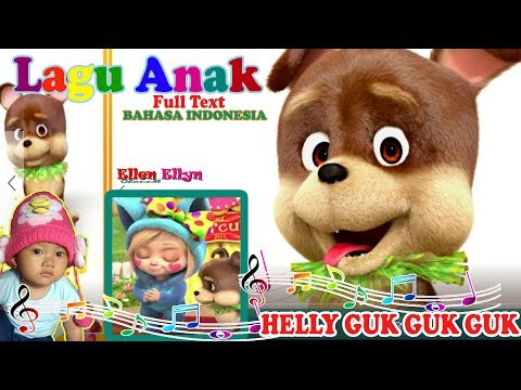 Kids Song I HAVE A LITTLE DOG Helly Guk Guk Guk