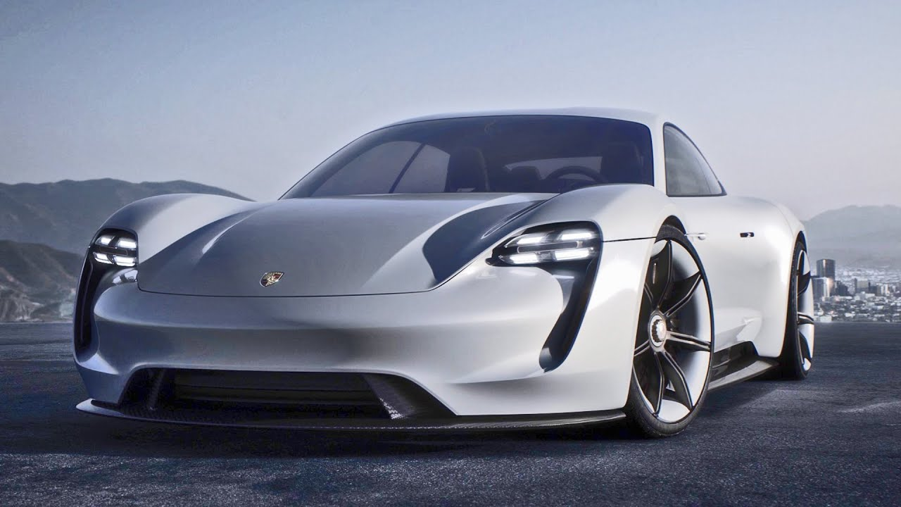 Porsche Mission E Concept Interior And Exterior Design