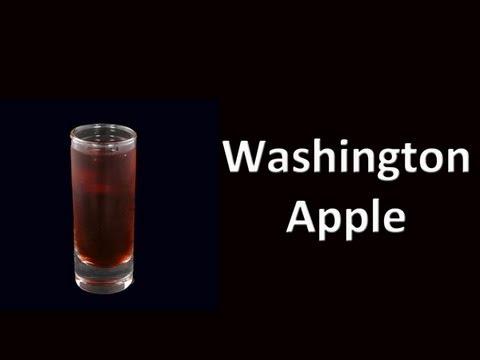 Washington Apple Cocktail Drink Recipe