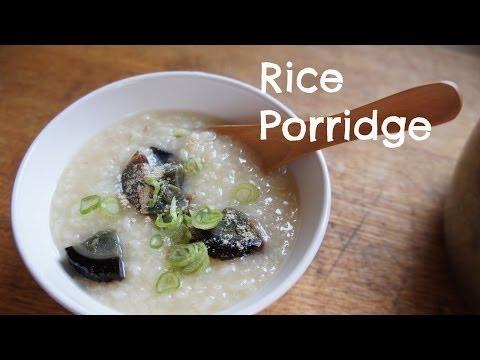 How To Make Jok (Congee, Rice Porridge)