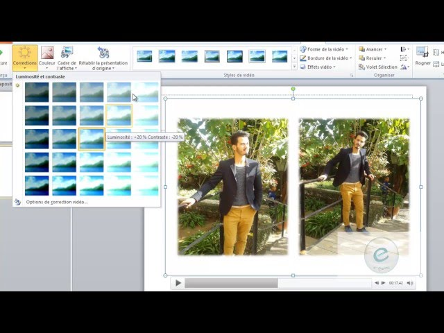 10 MS PowerPoint : Onglet  Insertion Video Et Audio