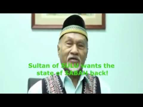 Sultan of Sulu wants the state of Sabah back from Malaysia
