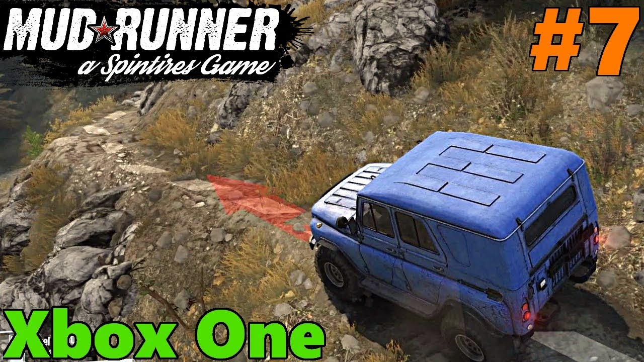 spintires mud runner xbox one let 39 s play part 7. Black Bedroom Furniture Sets. Home Design Ideas