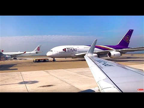 Bangkok Phuket Singapore Hong Kong Airports Air Travel RAW 4K iPhone Footage