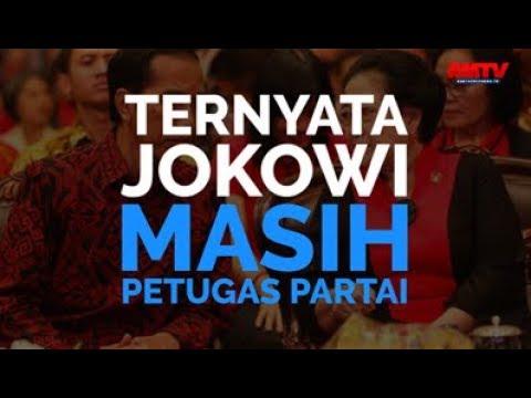 Ternyata, Jokowi Masih Petugas Partai