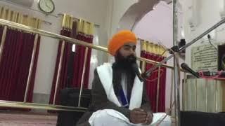Er bhai jaspreet singh Nawanshahr (Shri charan kamal sahib banga )katha hajri
