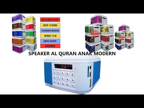 Speaker Al Quran Anak Modern