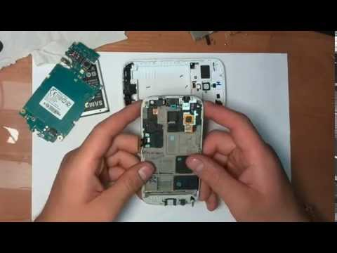 Ремонт телефона Samsung galaxy Ace 2 GT-i8160. Чистка и восстановления после попадания  воды.