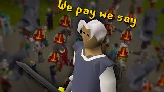 The first RuneScape riot crashed a P-Mod meeting