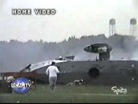 Canadian Sea king crash