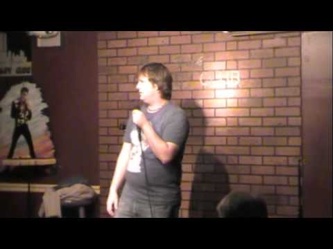 Jon curry Stand up at new york comedy club