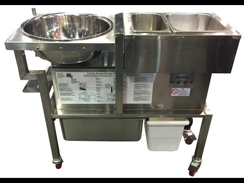 AyrKing Breading Station Training (Model#BBS-U-4219KK) - Krispy Krunchy Chicken