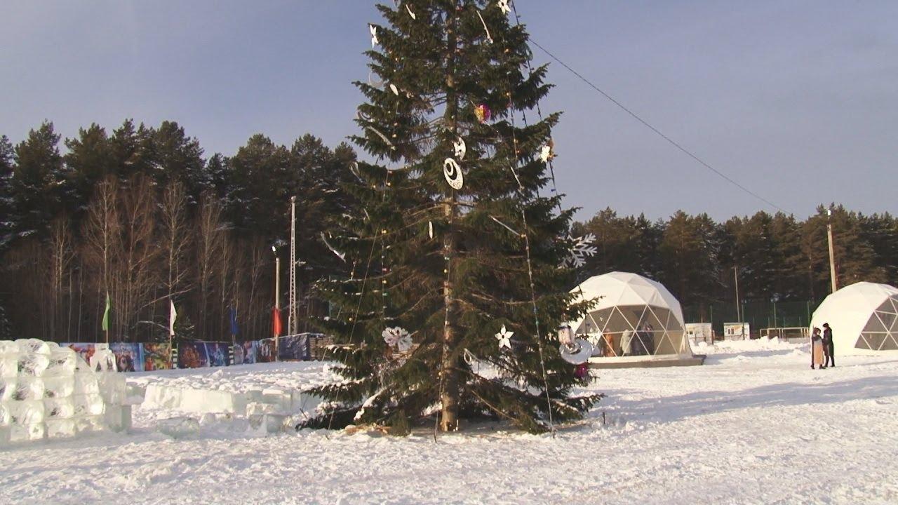 Дед Мороз в Нефтекамске