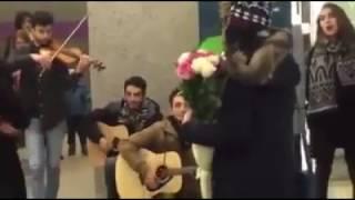 Հայ տղայի ամուսնության օրիգինալ առաջարկությունը սիրելիին