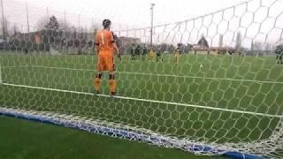Under 15, 13^ Giornata - Parma-Sassuolo 2-1, 33' gol di Salvatore Ribaudo (rig.)
