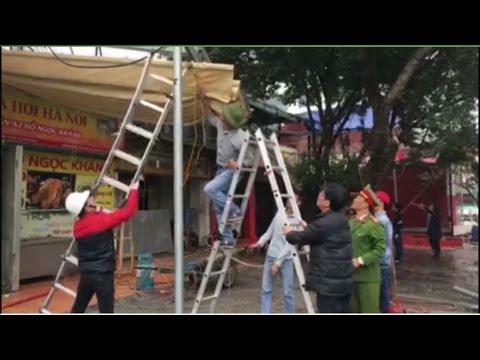 Ngày giải cứu vỉa hè nóng bỏng của cấp dưới ông Nguyễn Đức Chung