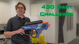 SHOOTING 430 NERF DARTS AS FAST AS POSSIBLE #17 | Nerf Rival Perses w/ Out of Darts Hopper Extension YouTube Videos