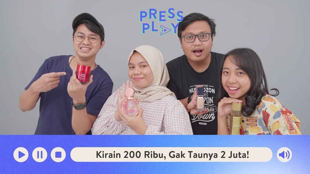 Nebak Harga Skin Care & Makeup Pakai Feeling | Press Play