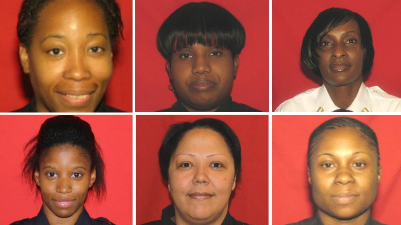 NEW YORK CITY, 6 BLACK FEMALE CORRECTION OFFICERS CHARGED WITH ILLEGAL STRIP SEARCHES