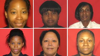 6 female correction officers charged with illegal strip searches