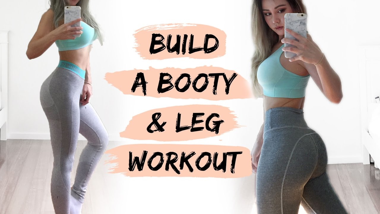 booty workout | build a bigger butt fitness routine - youtube