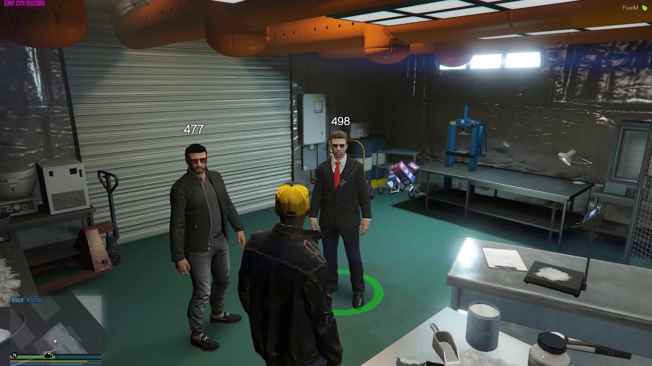 GTAV | EDRP | JACK #16 - Negotiation In The Coke Location
