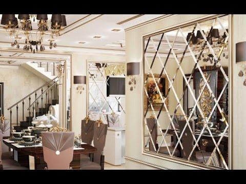 Дизайн интерьера. Зеркальные Панно на стену. Школа ремонта.