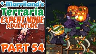 Terraria 1.3.3 (PC) Expert Mode, Part 54: Pumpkin Trouble! [vs. Pumpkin Moon]