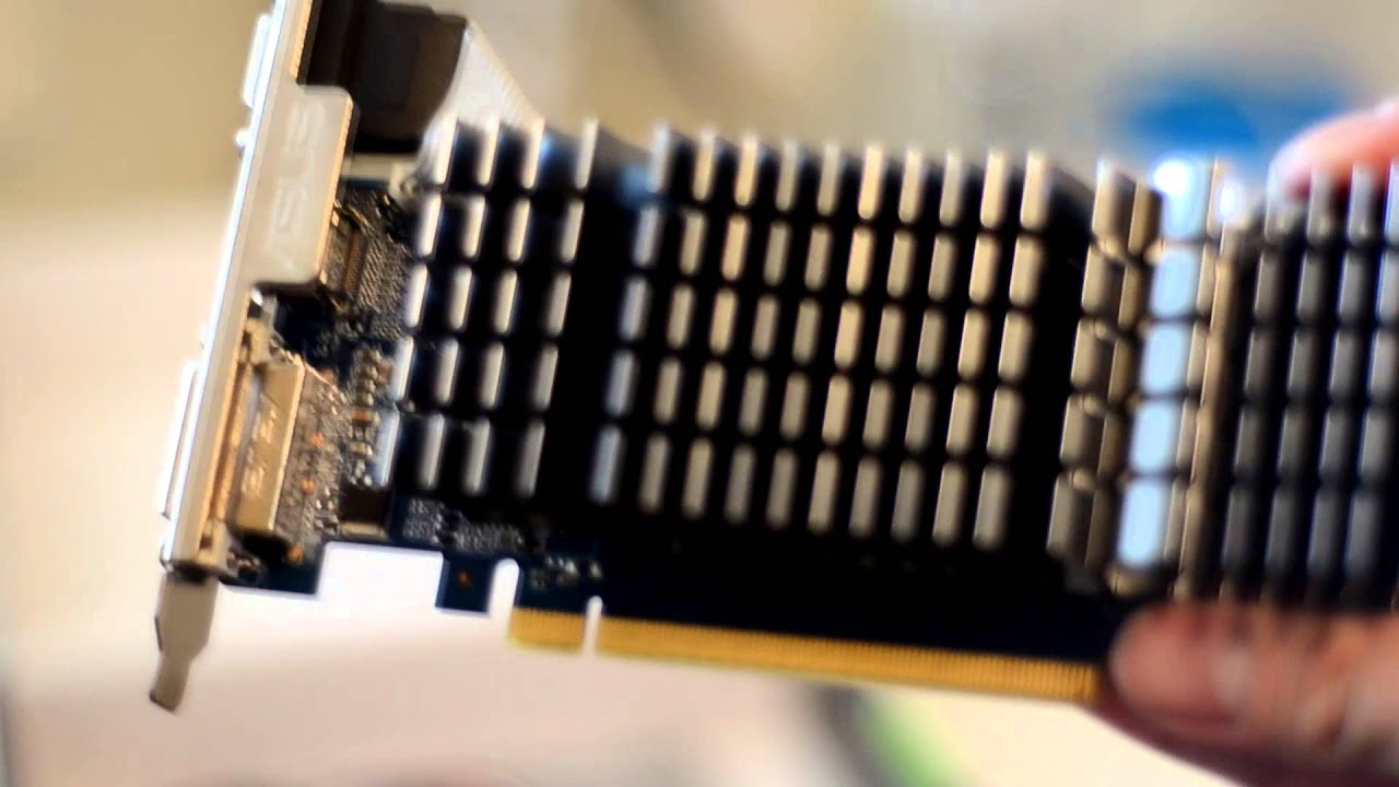 Asus Geforce GT 610 1gb unboxing - YouTube
