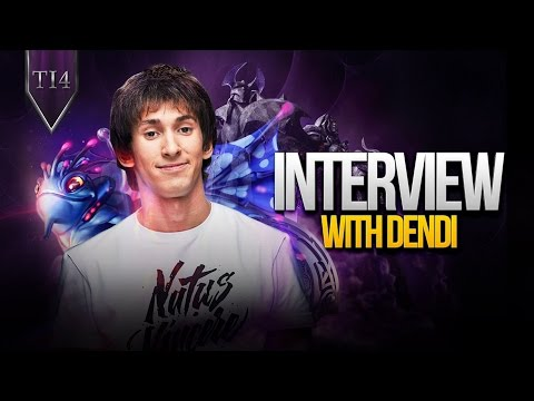 Dendi interview after TI4 @ The International 2014 (Eng subs)