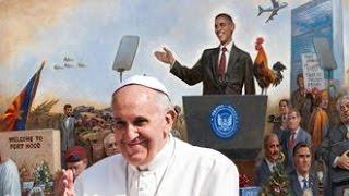 Demonic Start To 2016: The Pope & Obama Make Their Moves - The World Has Chosen Satan!