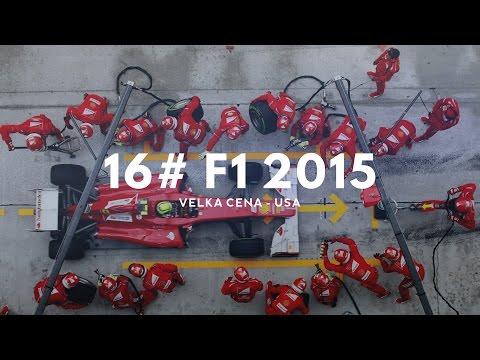 16# F1 2015 ► Velká cena - USA ► bolavý pitstop :) ►